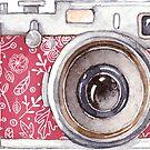 Vintage Pink Camera #trending by Neli Dimitrova