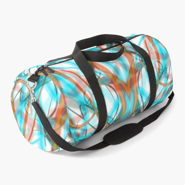 Pinstriped Inception Duffle Bag