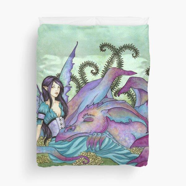 Let Sleeping Dragons Lie Duvet Cover