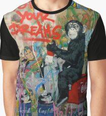 Follow your dreams - graffiti design Graphic T-Shirt