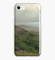 Dry stone walls of the Burren iPhone Case/Skin