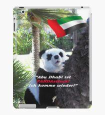 Panda-Souvenir direkt aus Abu Dhabi - ohne das Haus zu verlassen! iPad Case/Skin