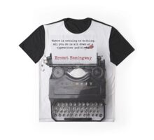 Write and Bleed Graphic T-Shirt