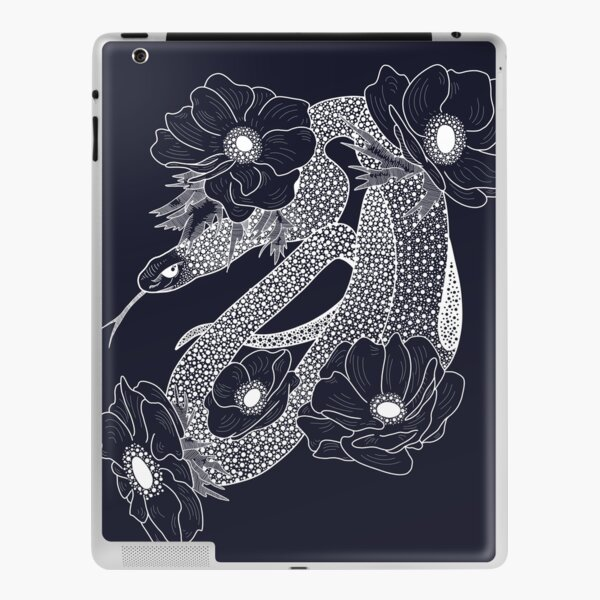 Friendly Snake White Version iPad Skin