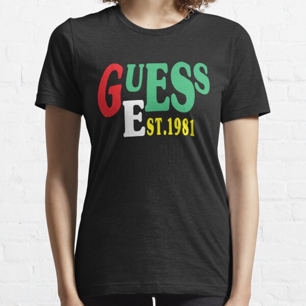 Guess est1981,Guess est 1981 funny brother gift Essential T-Shirt
