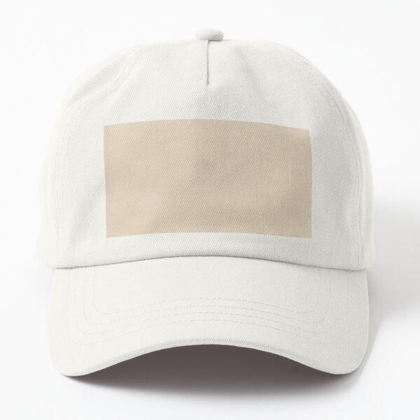 Beige test Dad Hat