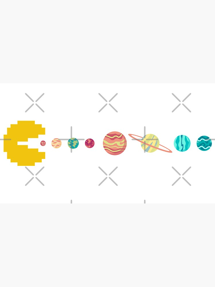 Solar System GAME OVER - Pixel Sun Eating All Planets of our Solar System by gengns