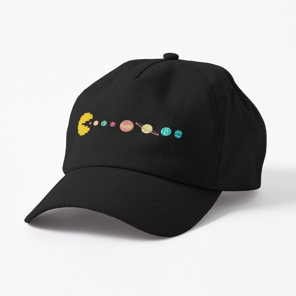 Solar System GAME OVER - Pixel Sun Eating All Planets of our Solar System Cap