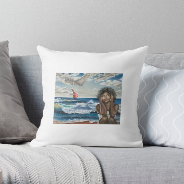 Gifts Are Falling Throw Pillow