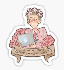 Soft Cannibalism Sticker
