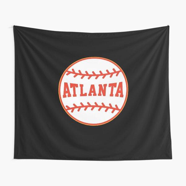 Atlanta Baseball Tapestry
