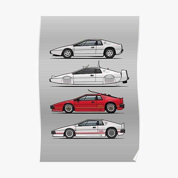 Esprit Spy Quartet Poster