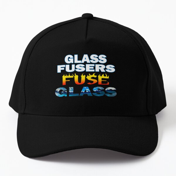 Glass Fusers Fuse Glass - For Glass Fusers Baseball Cap