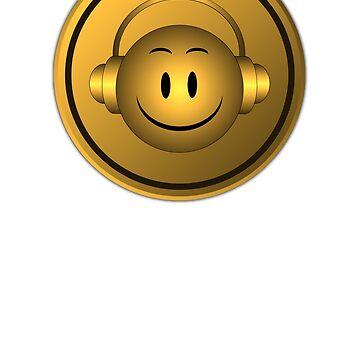 Good Music Gold Symbol by mayala