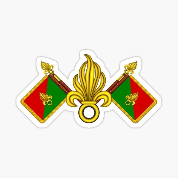 Légion Etrangère Française - Fanion et grenades Sticker