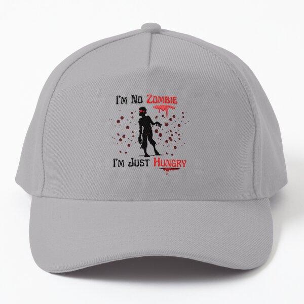 Zombie T-shirt- Im no zombie t-shirt Baseball Cap