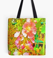 Penstemon Pop Art Style Tote Bag
