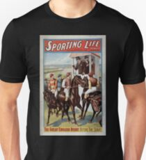Performing Arts Posters Sporting life written by Cecil Raleigh Seymour Hicks 1009 T-Shirt