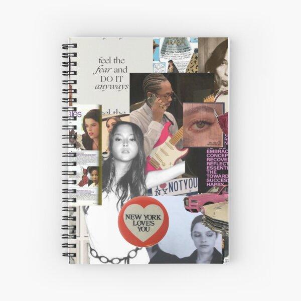 new york collage Spiral Notebook