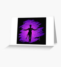 Purple Rain - Prince  Greeting Card