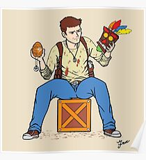 Nathan Drake - The Relics Hunter Poster