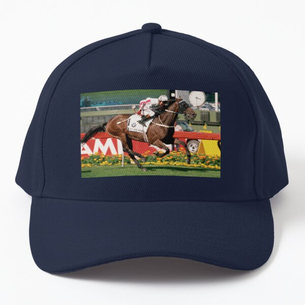 Might and Power winning the 1998 Cox Plate Baseball Cap