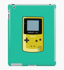 Game Boy Color Yellow iPad Case/Skin