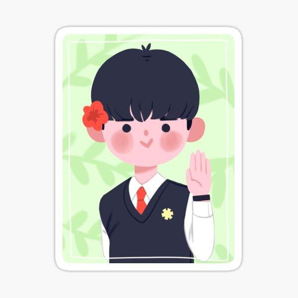 VIXX Hakyeon Royal Azalea Boy Meme Sticker