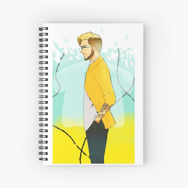 Tawnted Fan art Spiral Notebook