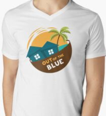 Out of the blue Mens V-Neck T-Shirt