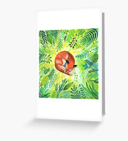 Nature's Heart Greeting Card