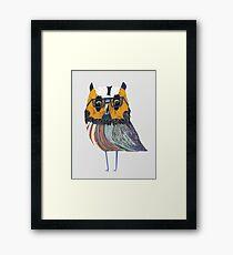 Smart Owl Framed Print