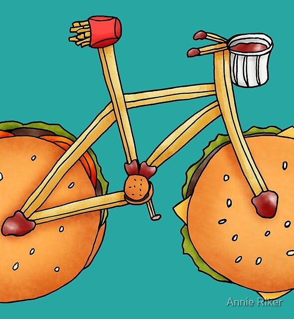 Burger & Frycycle by Annie Riker