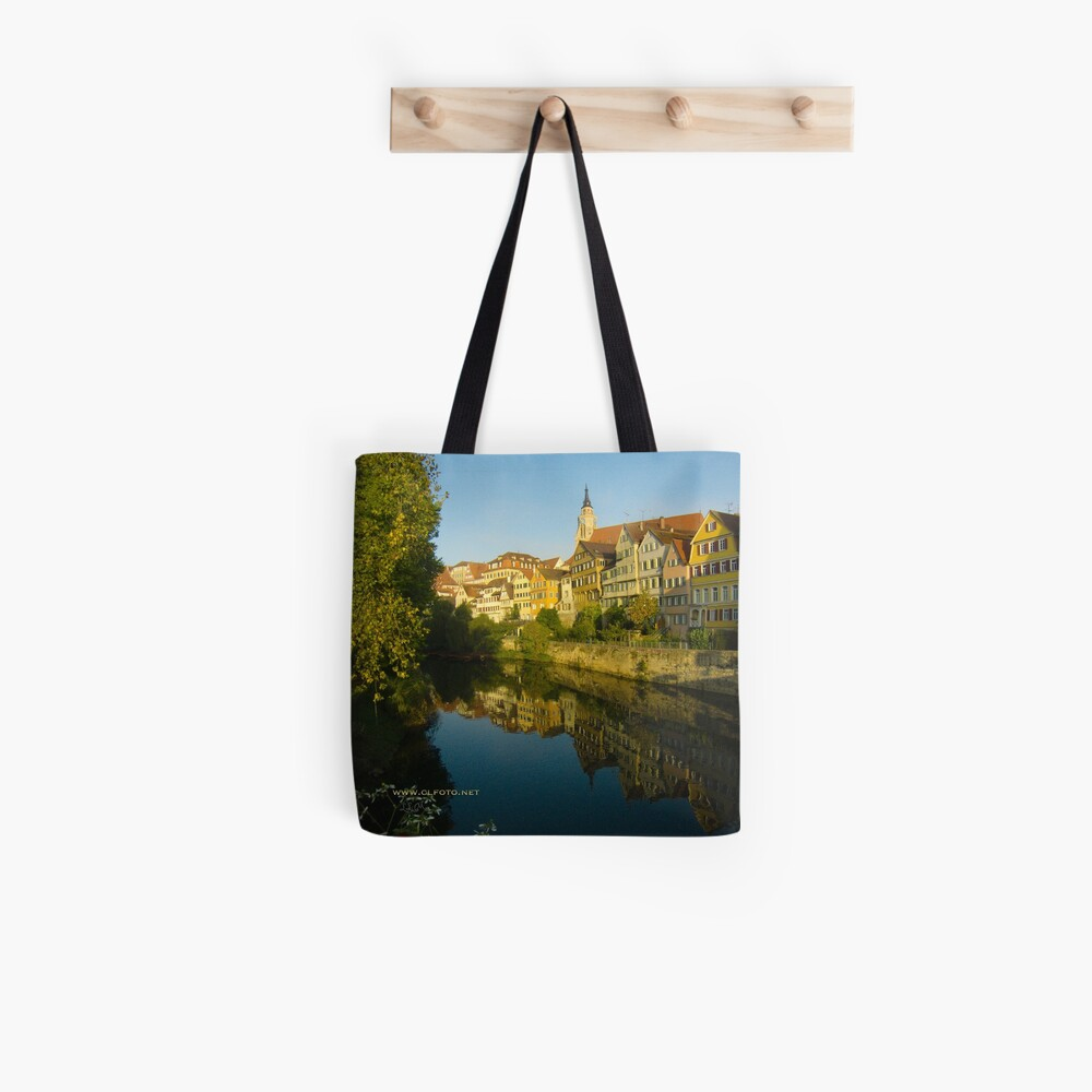 Postcard from Tübingen, Germany Tote Bag