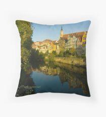 Postcard from Tübingen, Germany Throw Pillow