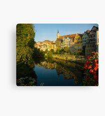 Postcard from Tübingen, Germany Canvas Print