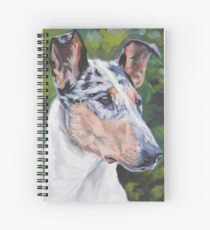 Smooth Collie Fine Art Painting Spiral Notebook