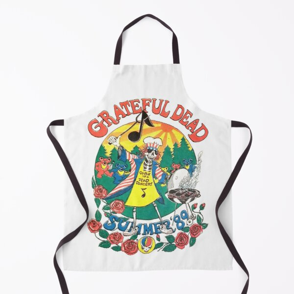 Vintage Rock Music Band, Summer Tour 1989, Rock And Roll Apron