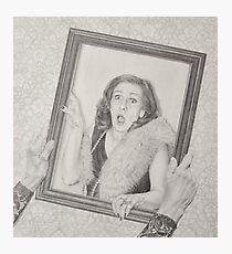 Moi Photographic Print