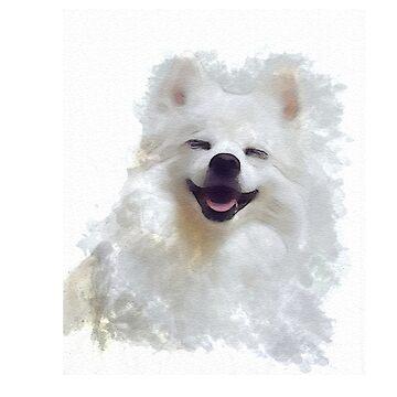 Smiling Dog  by roastedseaweed