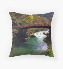 Nikko National Park - Japan  Throw Pillow
