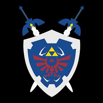 2 Swords 1 Shield by declin93