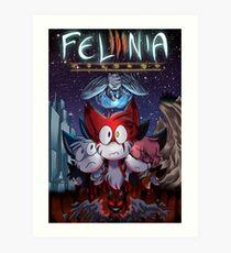 Felinia Poster [PRINT] Art Print