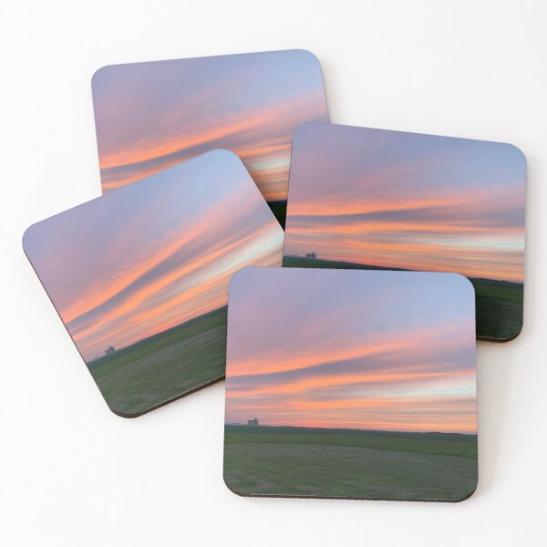 Country Sky Coasters (Set of 4)