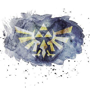 Triforce The Legend of Zelda by Happy-Bird