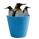Cup a Penguins by Artworksy