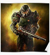 Doom 2016 #9 Poster