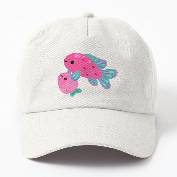 Strawberry peacock cichlid Dad Hat