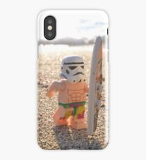 Surfing Stormtrooper iPhone Case