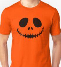 """The Pumpkin King"" Jack O'Lantern - Halloween- Pumpkin, Orange, Black, All Hallows Eve, Simple, Contemporary Unisex T-Shirt"
